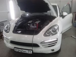 Чип-тюнинг Porsche Cayenne 3.0TDI