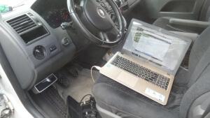 удаление клапана ЕГР VW Multivan 1.9 TDI